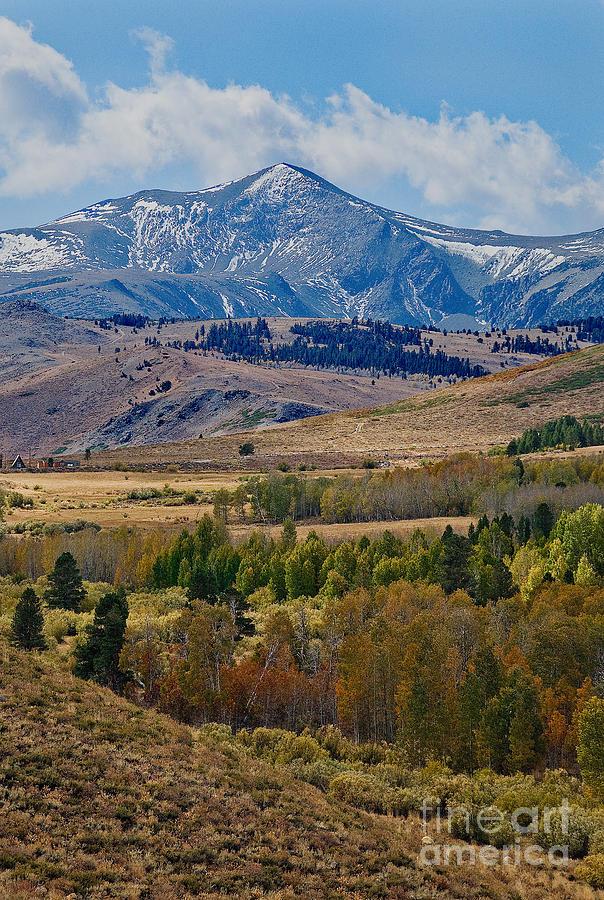 Prints Photograph -  Sierras Mountains by Mae Wertz