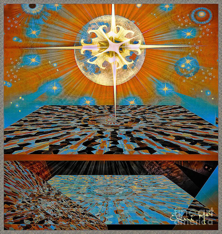 Digital Digital Art -  Solar Energy by Eleni Mac Synodinos