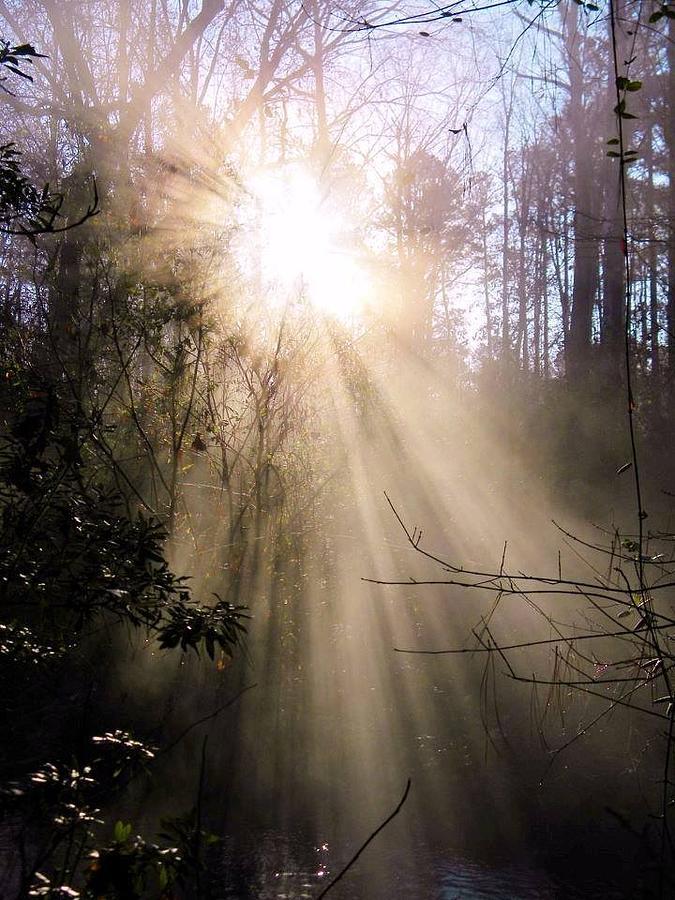 Clouds Digital Art - Sunrise Of Faith Windows From Heaven by Matthew Seufer