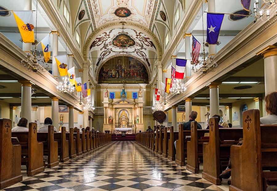 Nola Photograph -  St. Louis Cathedral by Steve Harrington