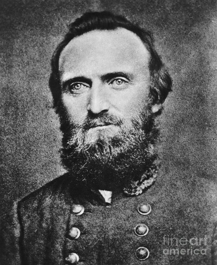 Male Photograph -  Stonewall Jackson by Anonymous