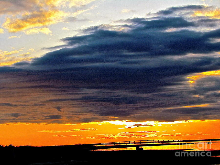 Sunsets Photograph -  The Earth Dreams by Qs House of Art ArtandFinePhotography