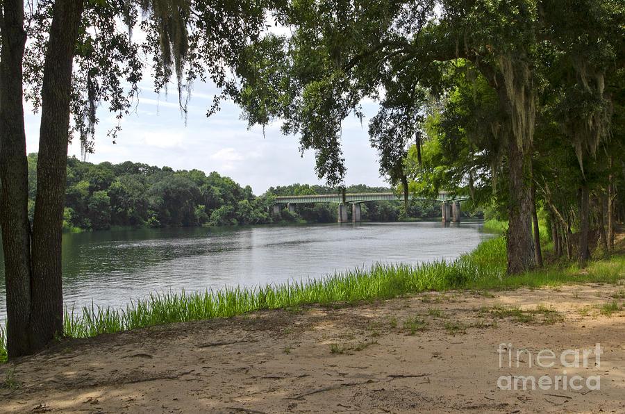 Bainbridge Photograph -  The Edge Of The Flint River by Debra Johnson