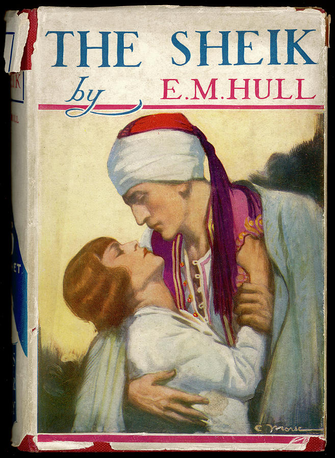 Sheik Drawing -  the Sheik  By E M Hull       Date by Mary Evans Picture Library