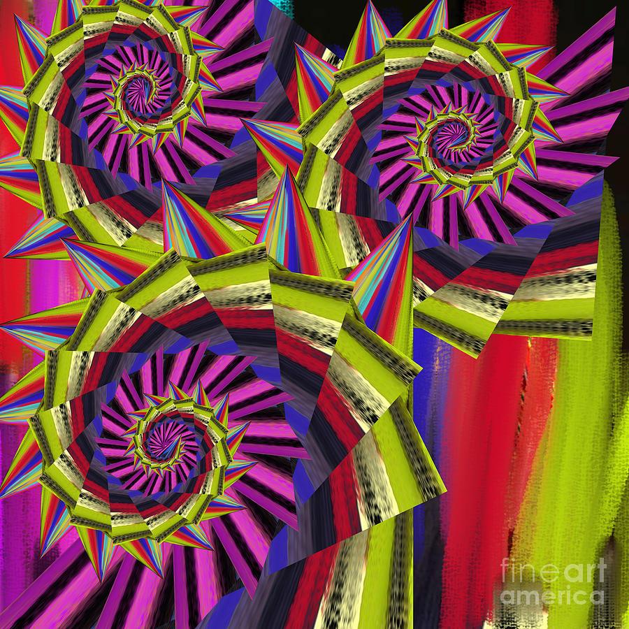 Thorns Digital Art -  Thorns by Soumya Bouchachi