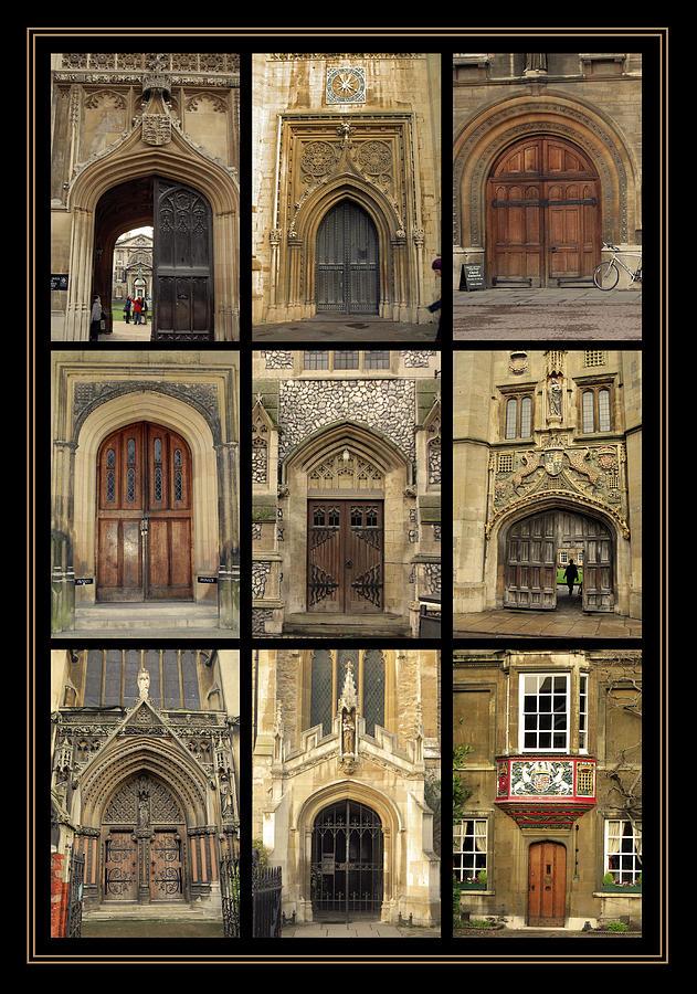 Door Photograph -  Uk Doors by Christo Christov