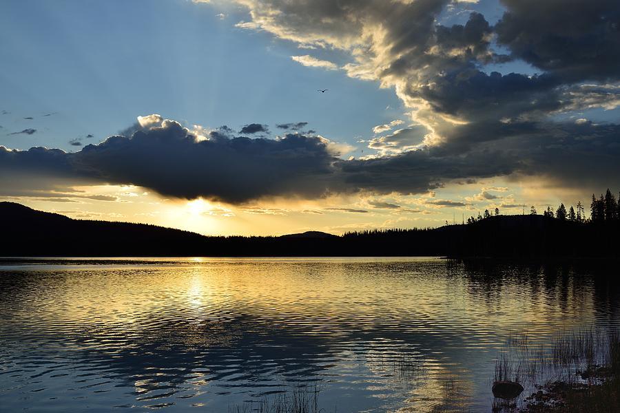 Landscape Photograph -  Unnamed Sunrise  I by Rich Rauenzahn