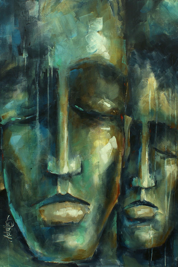 Portrait Painting -  Visions by Michael Lang