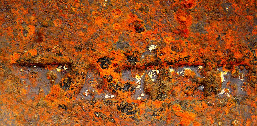 Rust Photograph -  Water by Chris Berry