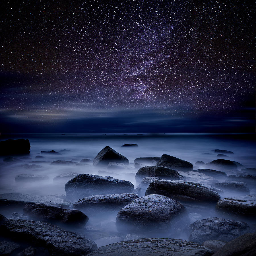 Night Photograph -  Where dreams begin by Jorge Maia