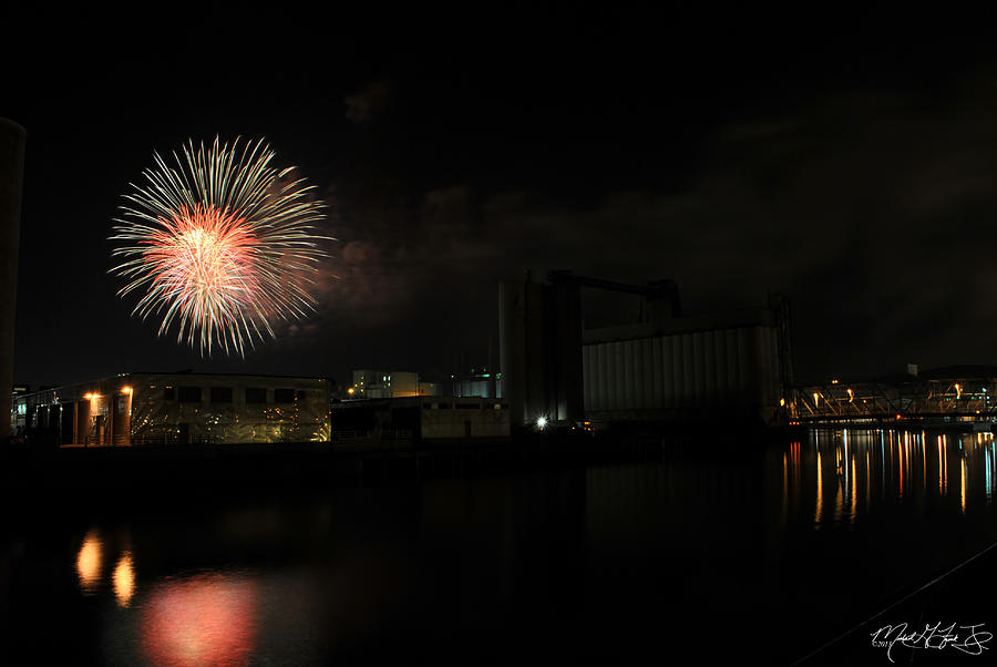 4th Of July Photograph - 0015 ...the Bombs Bursting In Air...4jul13 Series by Michael Frank Jr