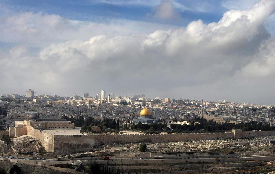 Jerusalem Photograph - 002 Jerusalem by Alex Kolomoisky