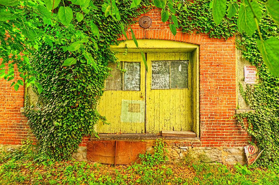 Doors Photograph - 0096-121 by Lewis Mann