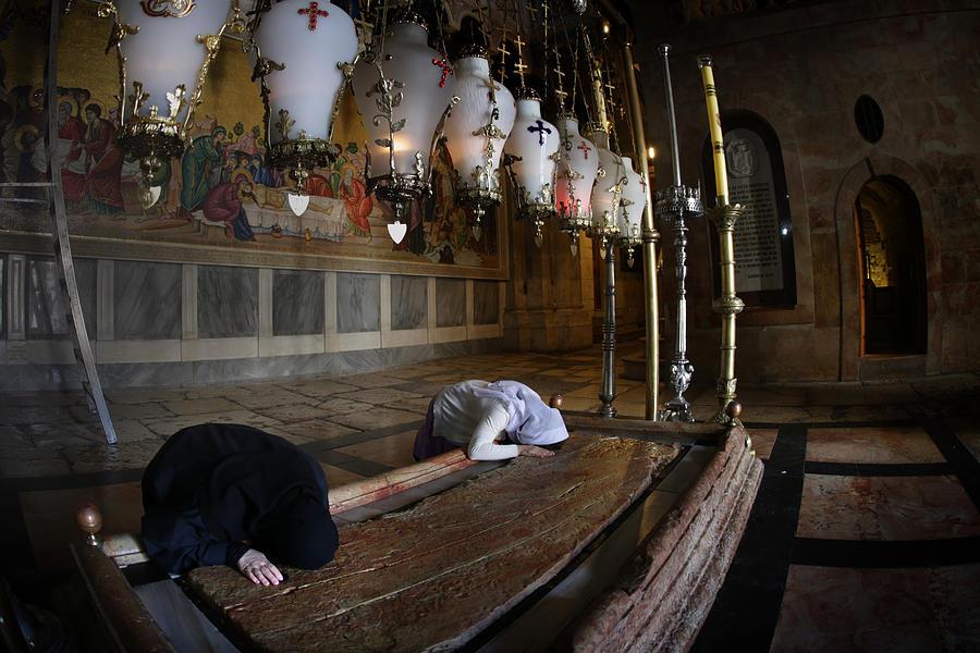 011 Jerusalem Photograph by Alex Kolomoisky