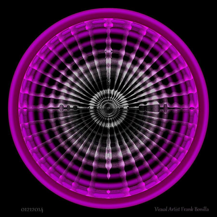 Circle Digital Art - #01212014 by Visual Artist  Frank Bonilla