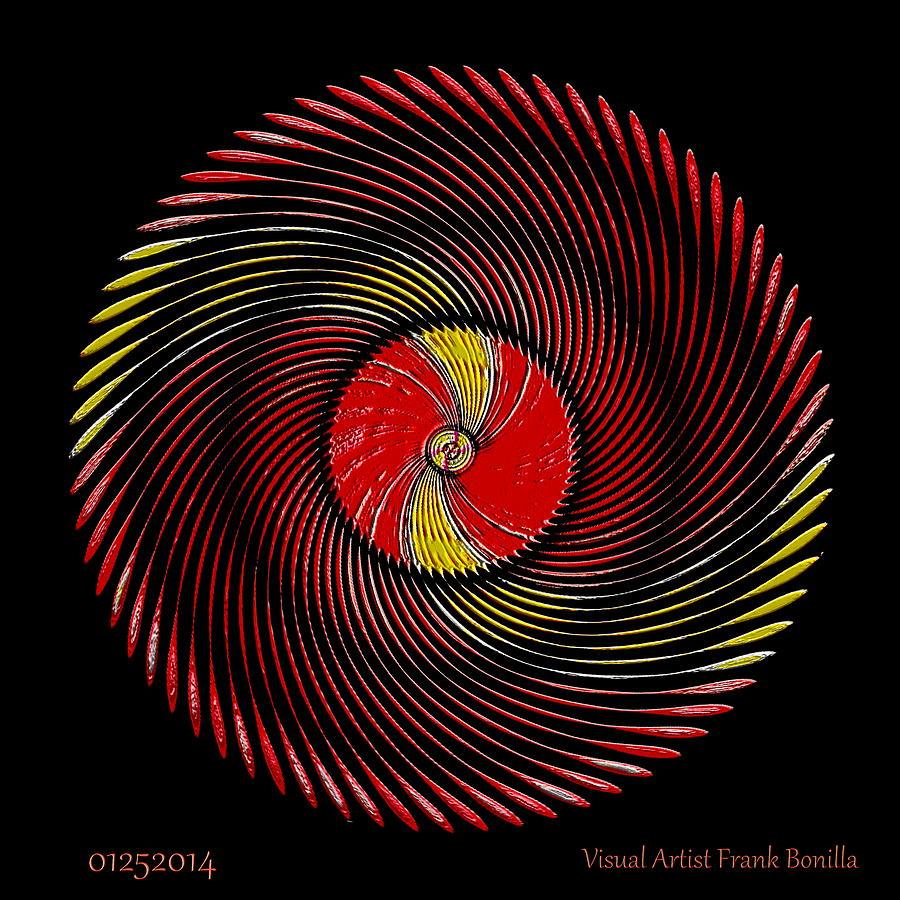 #01252014 Digital Art - #01252014 by Visual Artist  Frank Bonilla