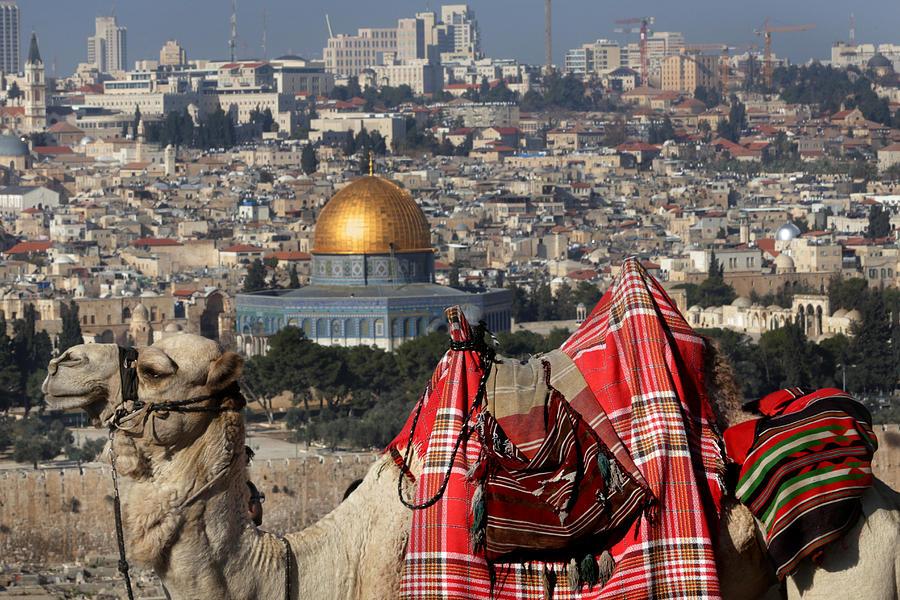 Old City Photograph - 014 Jerusalem by Alex Kolomoisky