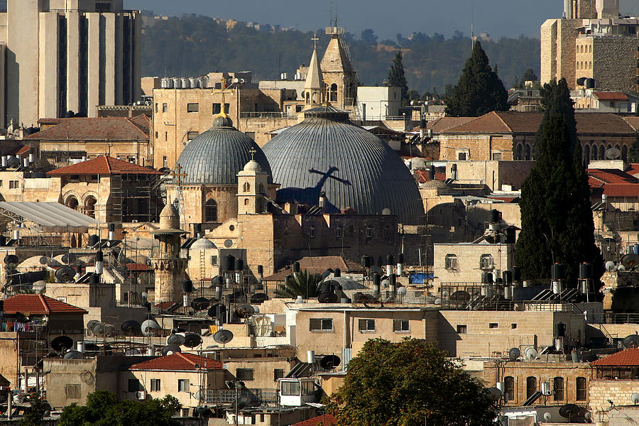 Old City Photograph - 015 Jerusalem by Alex Kolomoisky