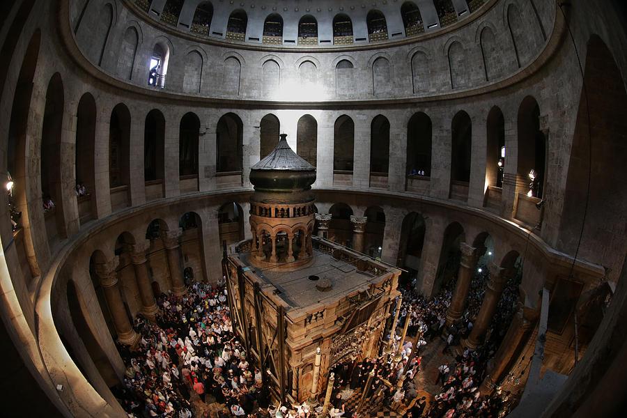 016 Jerusalem Photograph by Alex Kolomoisky