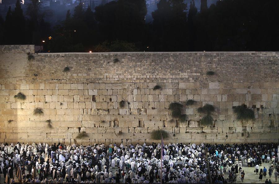 022 Jerusalem Photograph by Alex Kolomoisky
