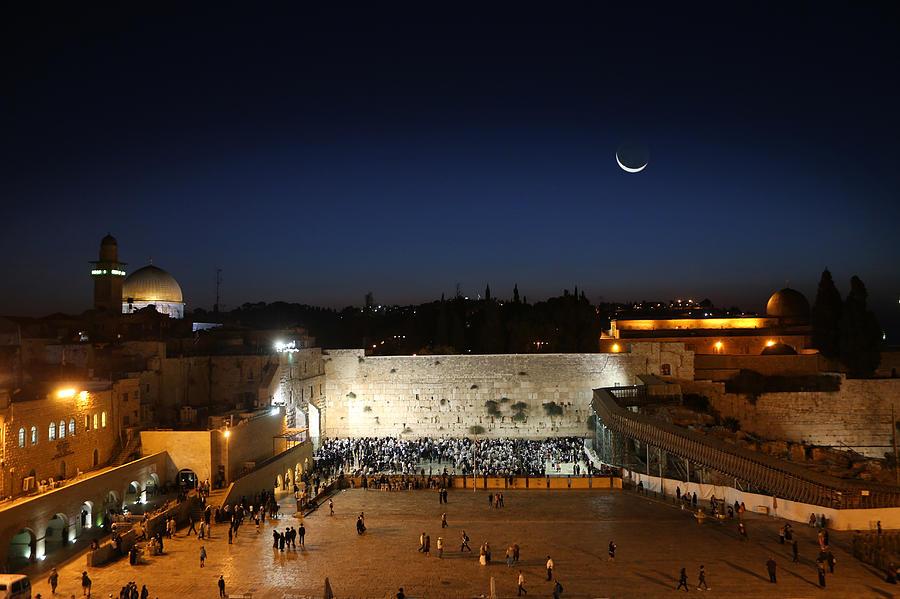 Western Wall Photograph - 023 Jerusalem by Alex Kolomoisky