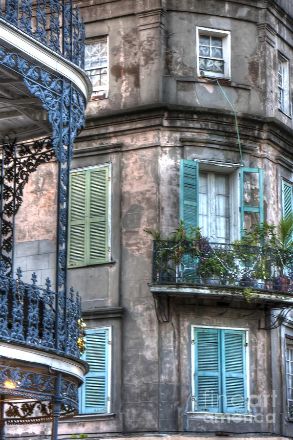 New Photograph - 0254 French Quarter 10 - New Orleans by Steve Sturgill