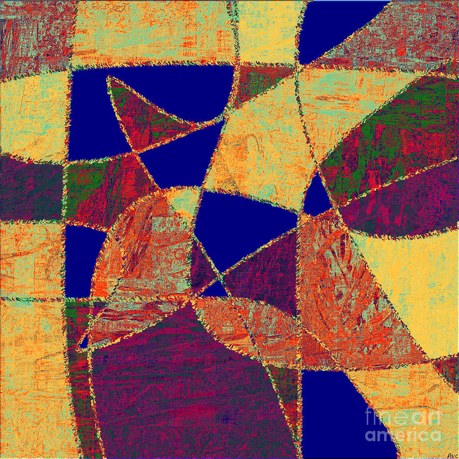 Abstract Digital Art - 0268 Abstract Thought by Chowdary V Arikatla