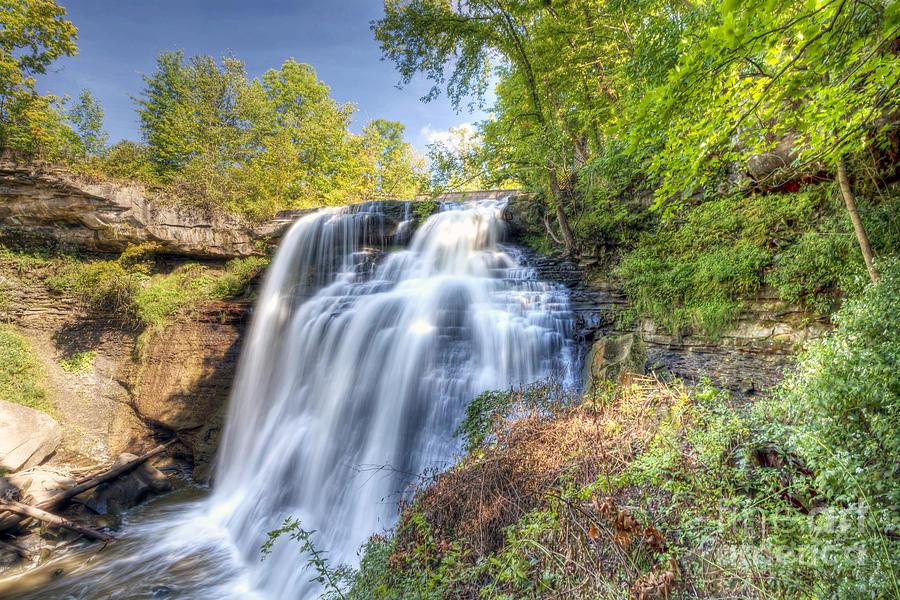 Cuyahoga Photograph - 0302 Cuyahoga Valley National Park Brandywine Falls by Steve Sturgill