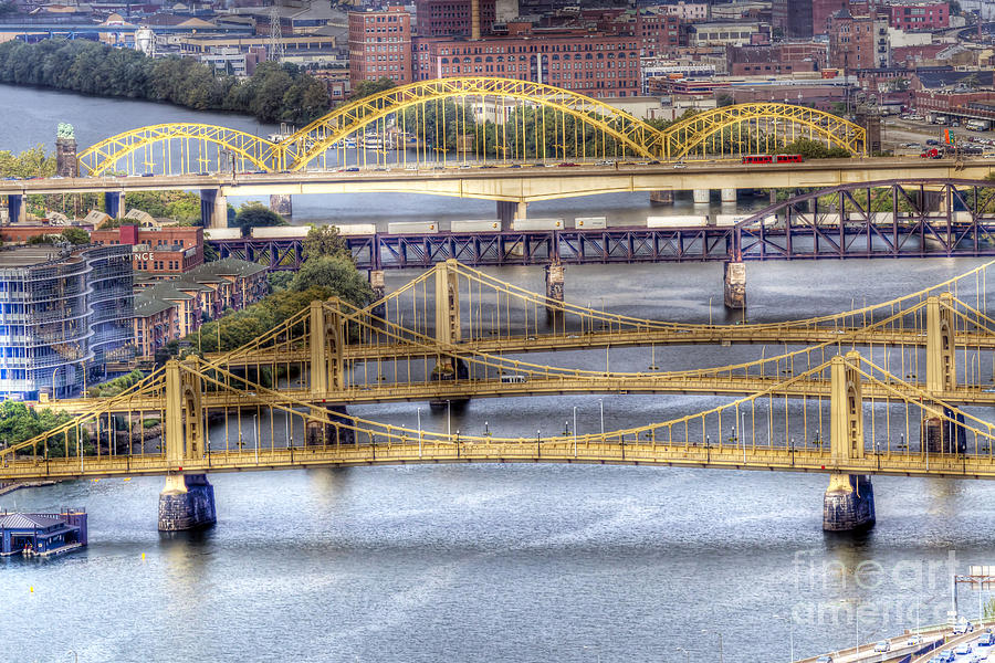 Pittsburgh Photograph - 0307 Pittsburgh 8 by Steve Sturgill