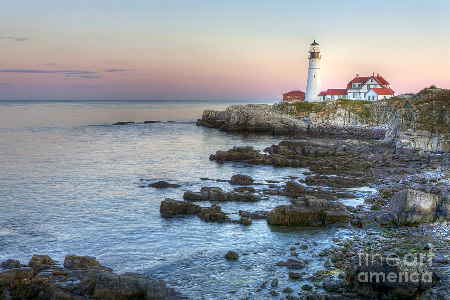 Portland Photograph - 0312 Portland Head Lighthouse by Steve Sturgill