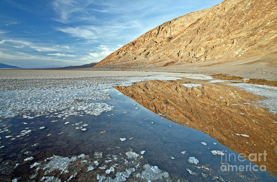 Bad Photograph - 0330 Badwater Basin by Steve Sturgill