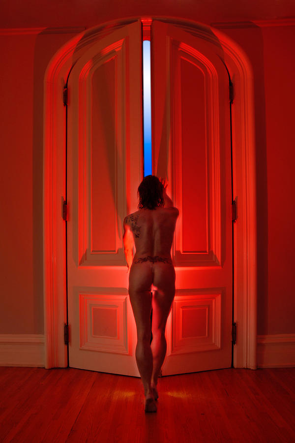Passion Photograph - 0342 Beyond The Red Doors by Chris Maher