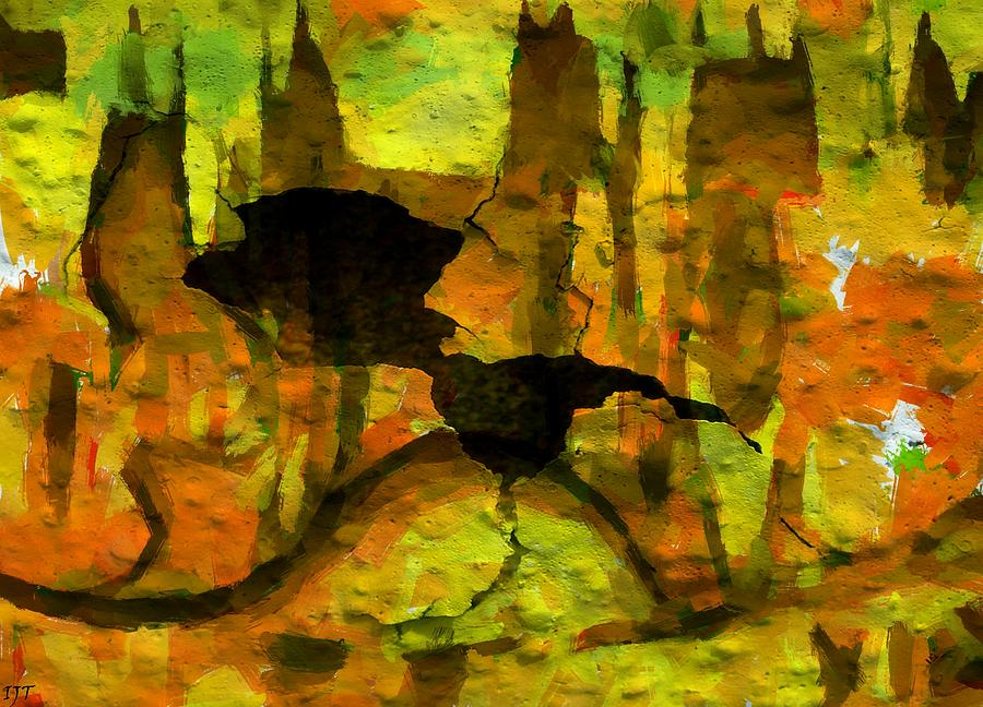 Still Life Painting - 0519 by I J T Son Of Jesus