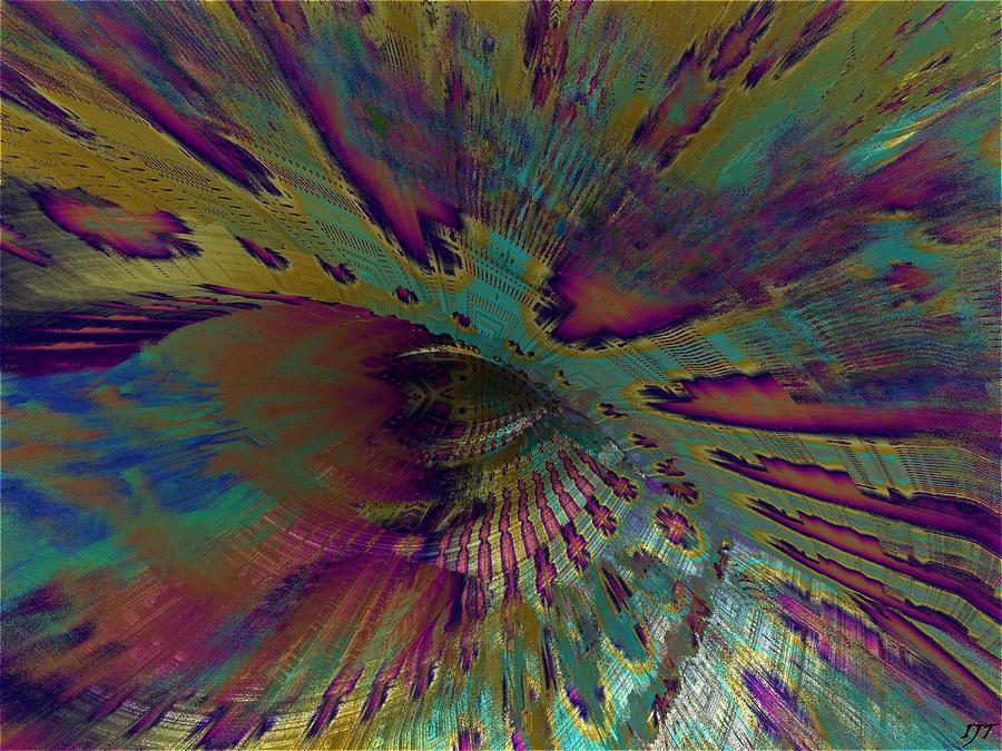 Abstract Painting - 0547 by I J T Son Of Jesus