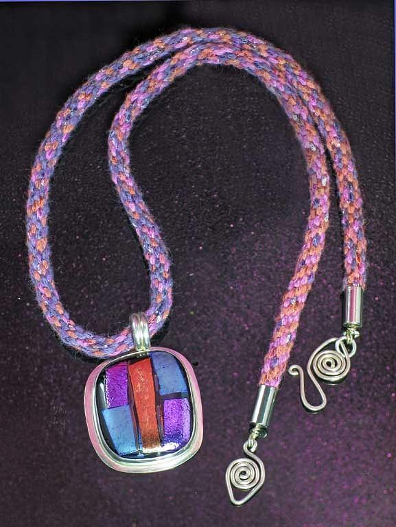 Silver Jewelry - 0610 Metal Plaid by Dianne Brooks