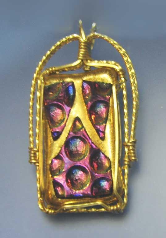 Gold Jewelry - 0645 Tiki by Dianne Brooks
