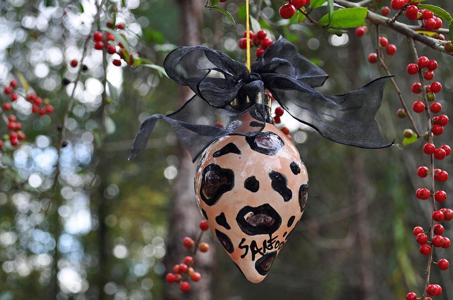 Ornament Ceramic Art -  Majolica Maiolica Ornament by Amanda  Sanford