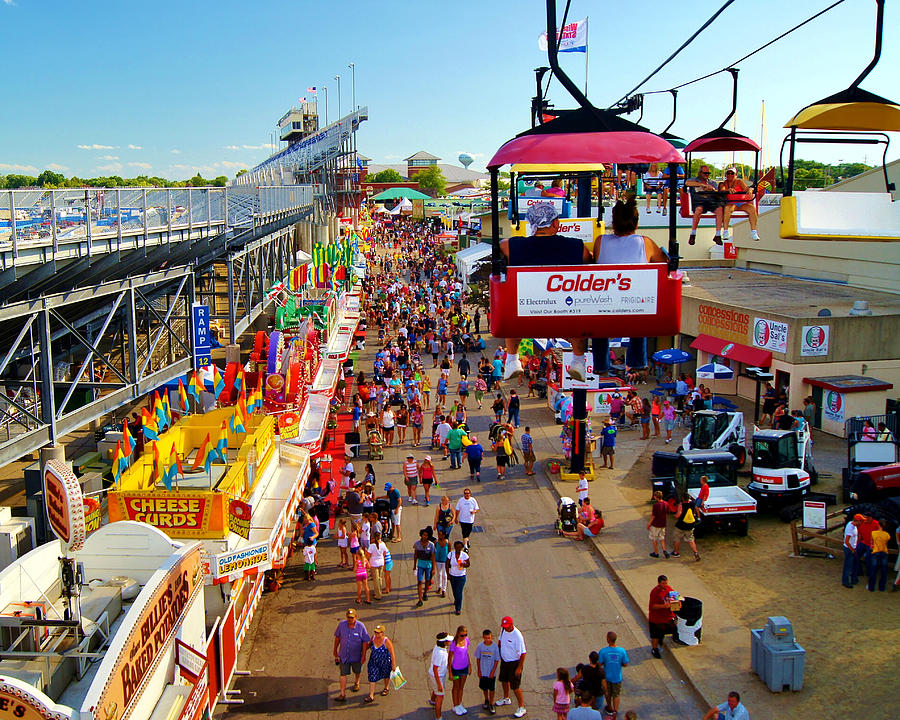 wisconsin state fair milwaukee wi photograph by carol toepke