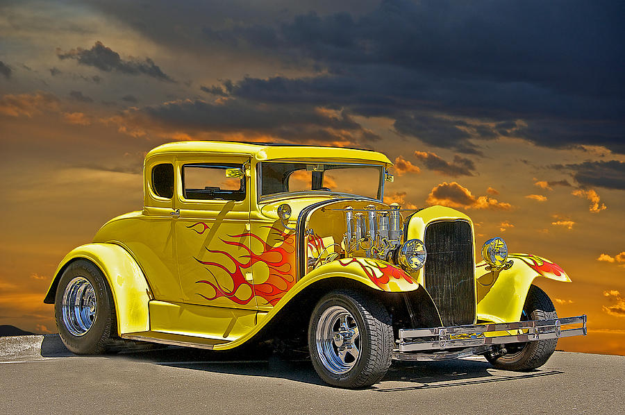 1930 Ford Model A Coupe Photograph By Dave Koontz
