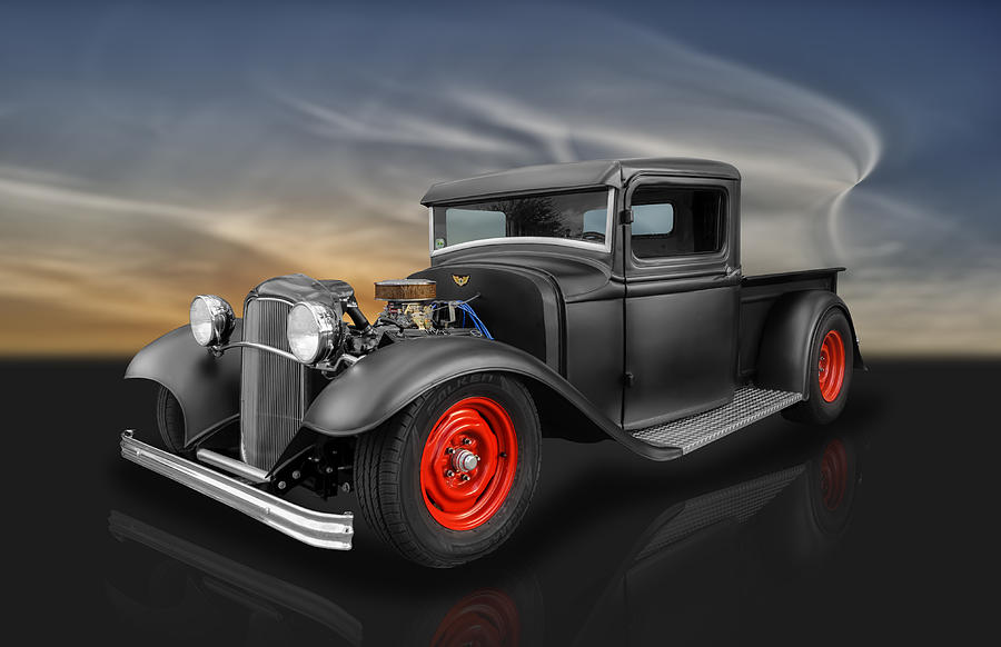 1932 Ford Pickup Photograph by Frank J Benz