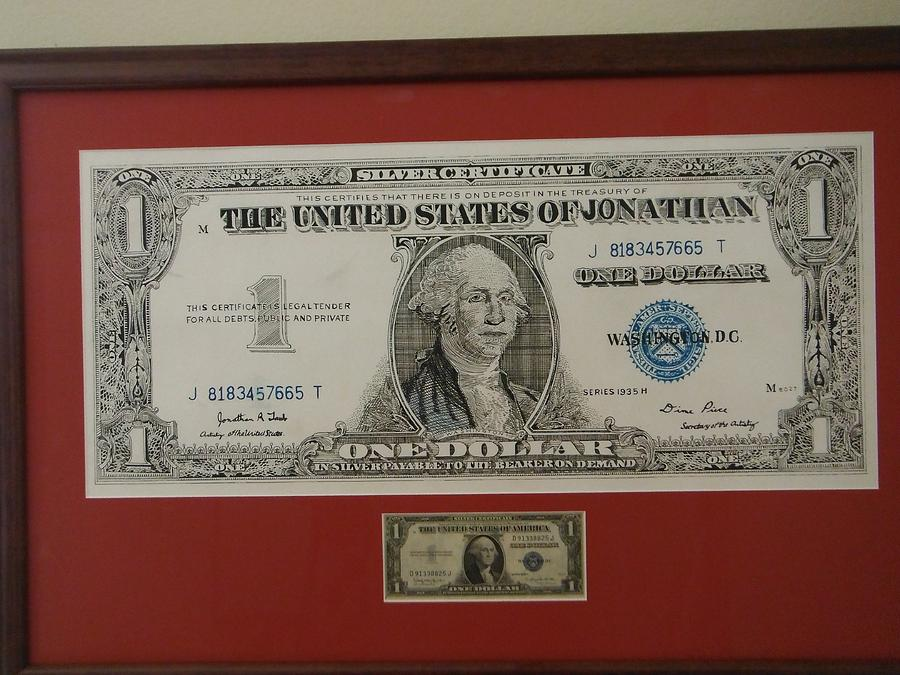 1935 Silver Certificate Drawing by Jonathan Taub