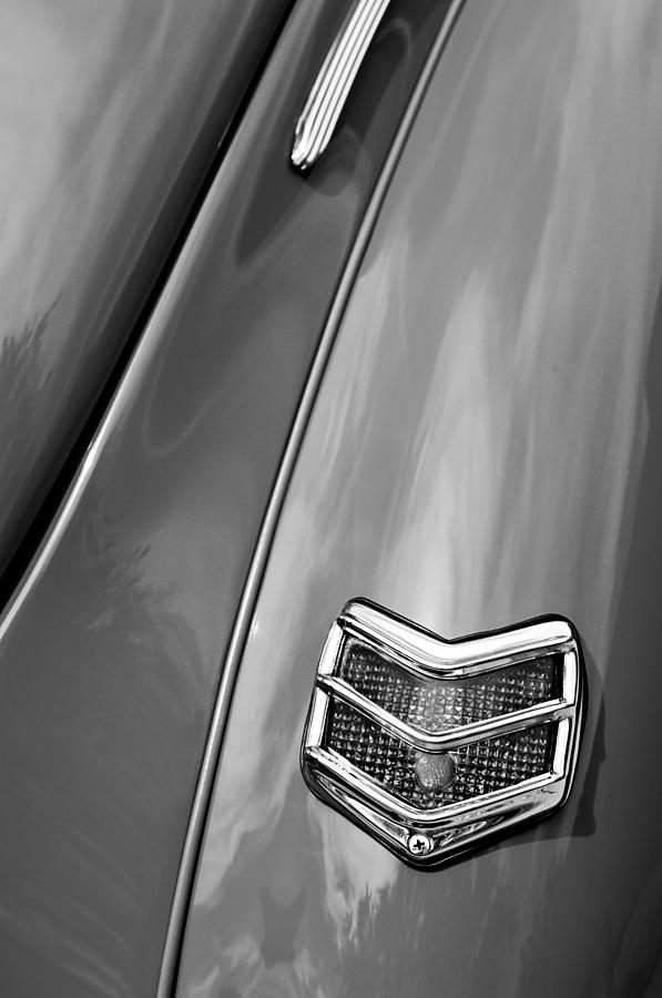 1940 Ford Photograph - 1940 Ford Deluxe Coupe Taillight by Jill Reger