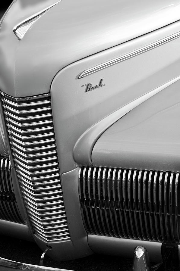 Grill Photograph - 1940 Nash Grille by Jill Reger