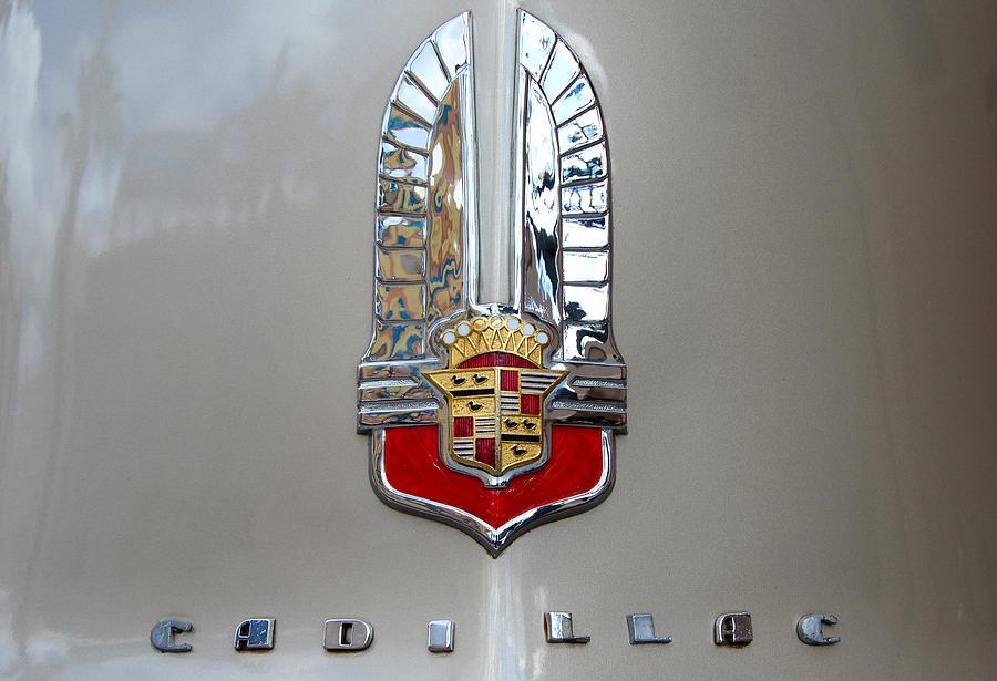 Cadillac Photograph - 1941 Cadillac Emblem by David Lee Thompson