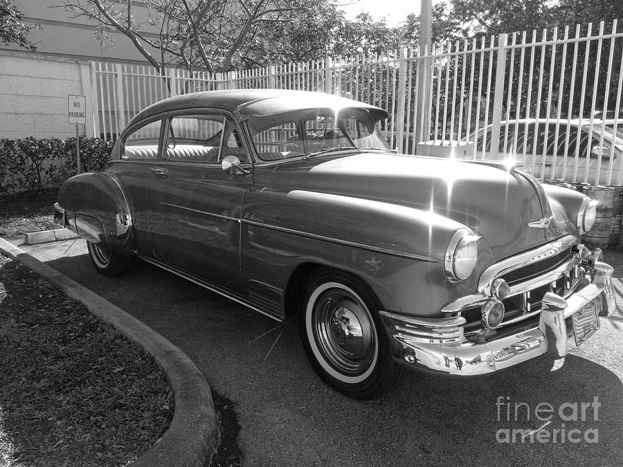 Chevy Photograph - 1949 Chevy by Andres LaBrada