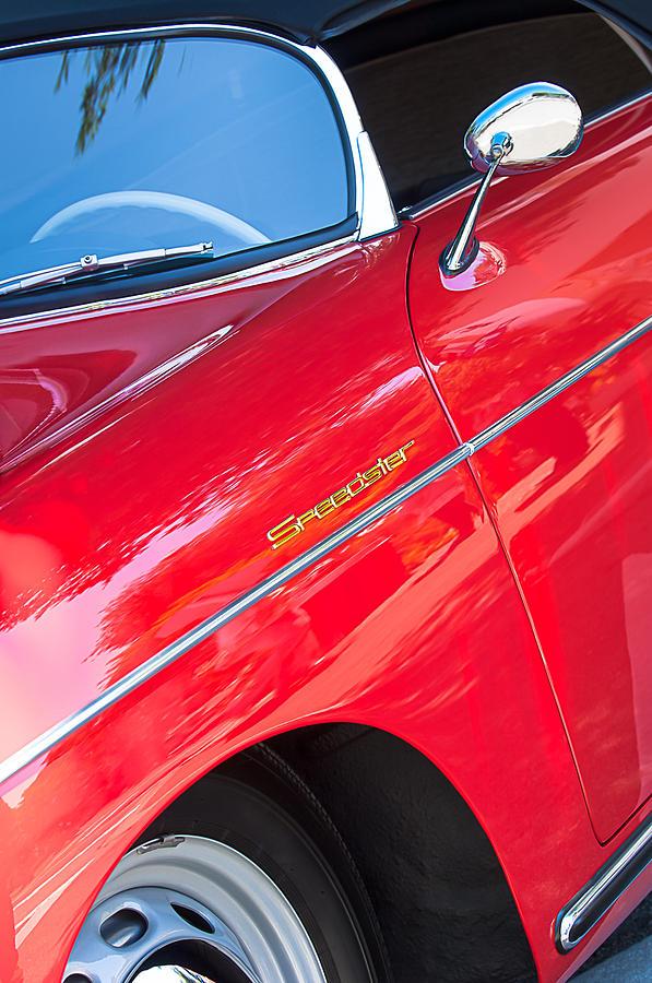 1955 Porsche 356 Photograph - 1955 Porsche 356 Speedster by Jill Reger