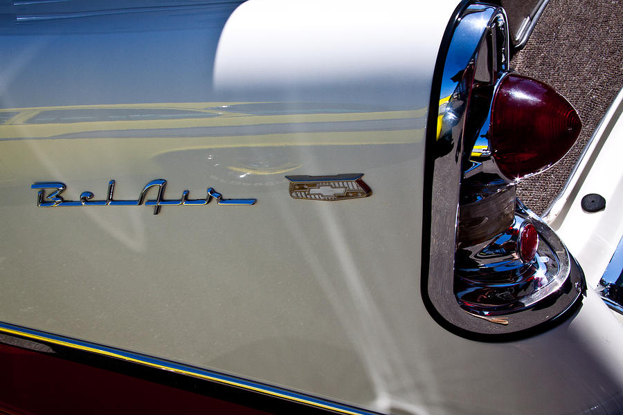56 Photograph - 1956 Chevy Bel Air Custom Hot Rod by David Patterson