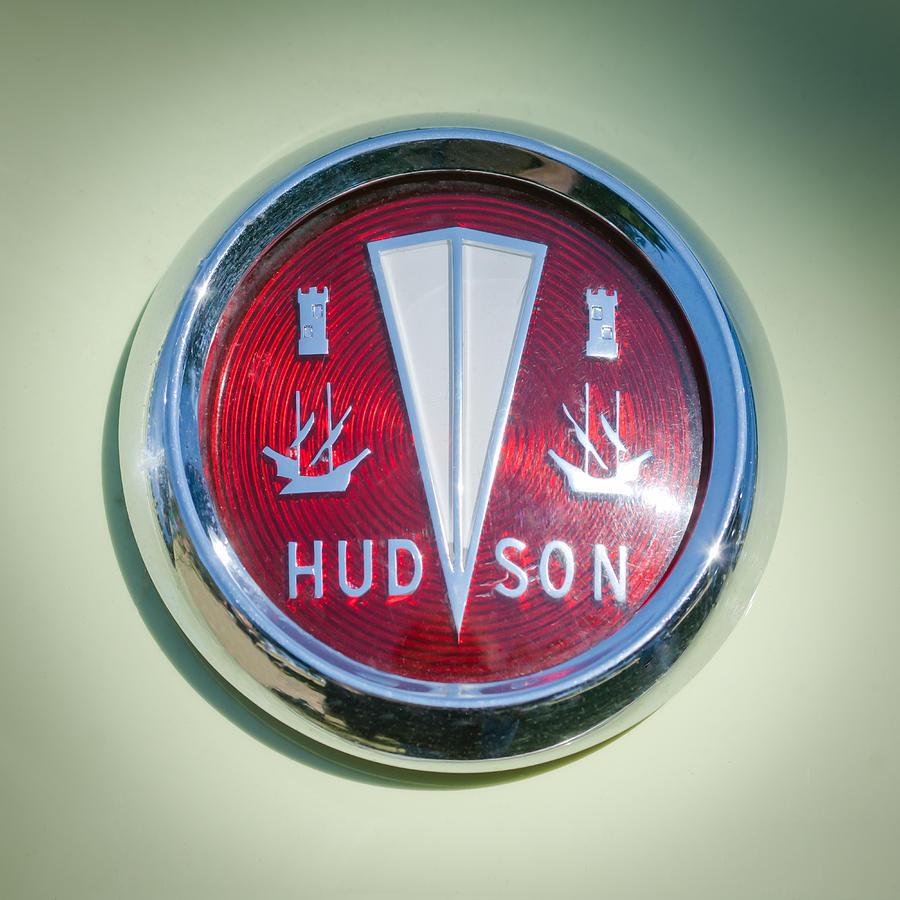 1956 Hudson Rambler Station Wagon Hood Ornament Emblem
