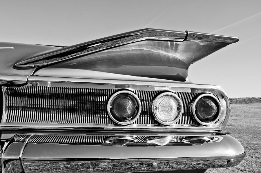 1960 Chevrolet Impala Resto Rod Taillight Photograph - 1960 Chevrolet Impala Resto Rod Taillight by Jill Reger