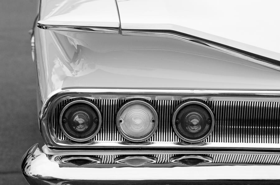 Taillights Photograph - 1960 Chevrolet Impala Tail Lights by Jill Reger